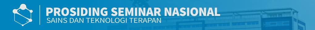 Prosiding Seminar Nasional Sains dan Teknologi Terapan